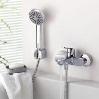 Краны с душем для ванной, советы по выбору