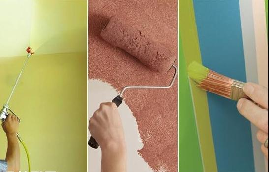 Лучший способ покрасить стены