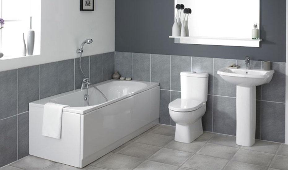 Монтаж сантехники в ванной комнате