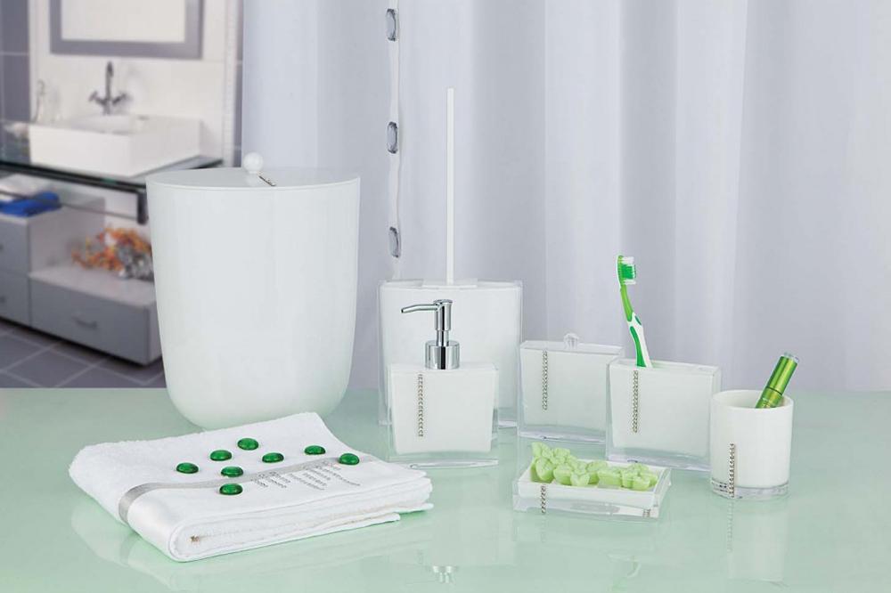 Настольные аксессуары для ванной комнаты и туалета