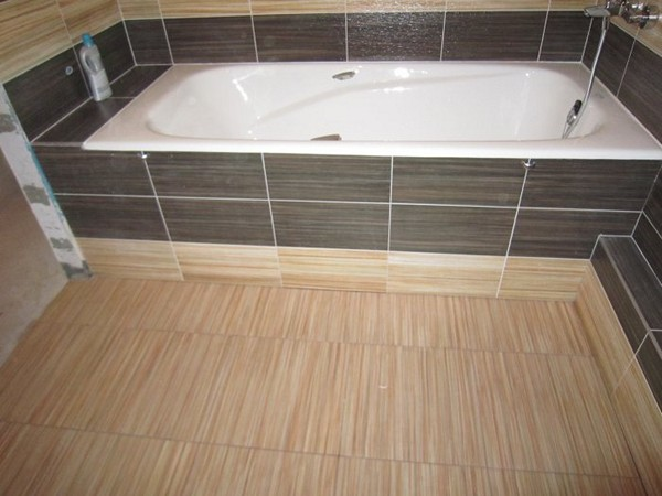 Облицовка ванны плиткой