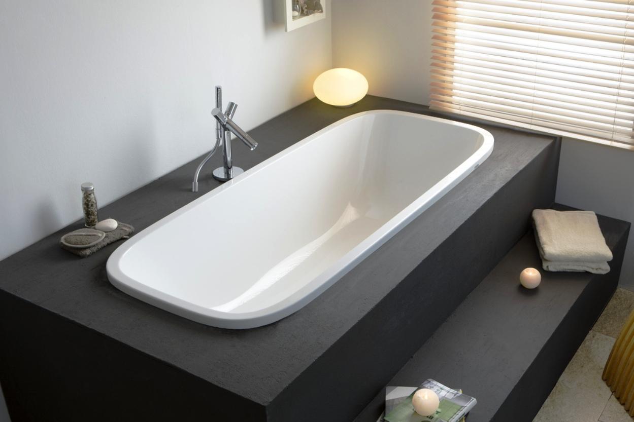 Подиум для ванны из кирпича или пеноблоков
