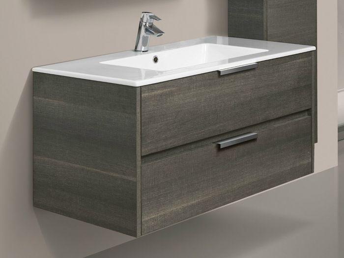 Подвесная раковина или раковина с подвесной тумбой для ванной