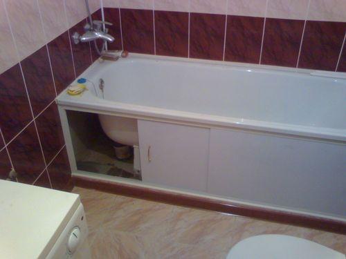 Правила установки ванны