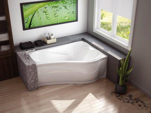 Правильно выбираем форму современной ванны