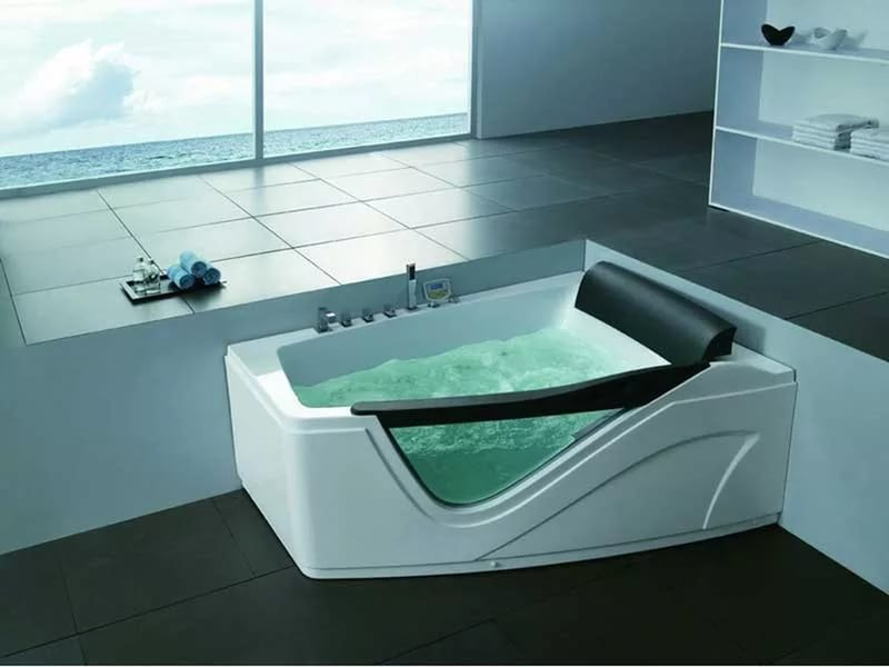 Преимущества асимметричных ванн