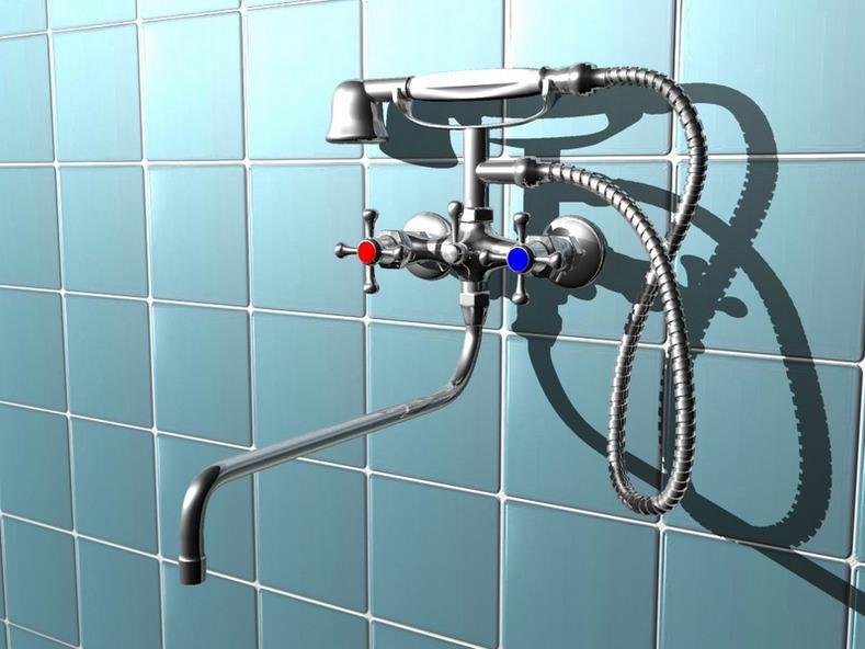 Ремонт смесителей для ванной