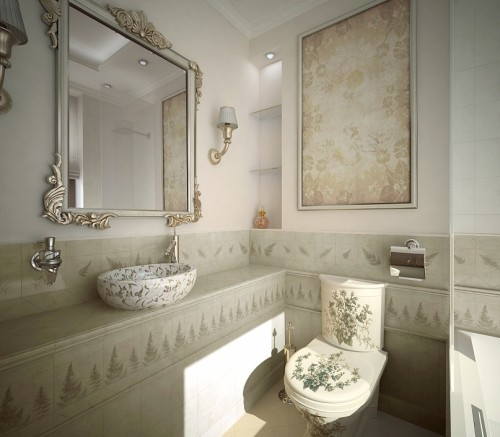 Сантехника для ванной прованс