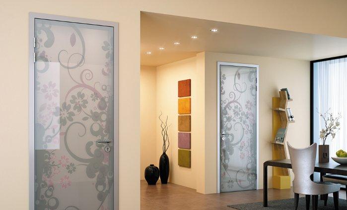 Сфера применения стекла в дизайне