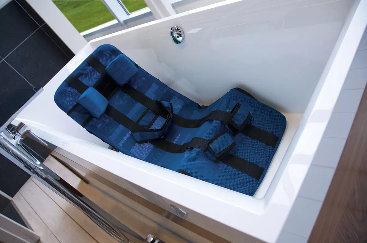 Складное сиденье-гамак для купания