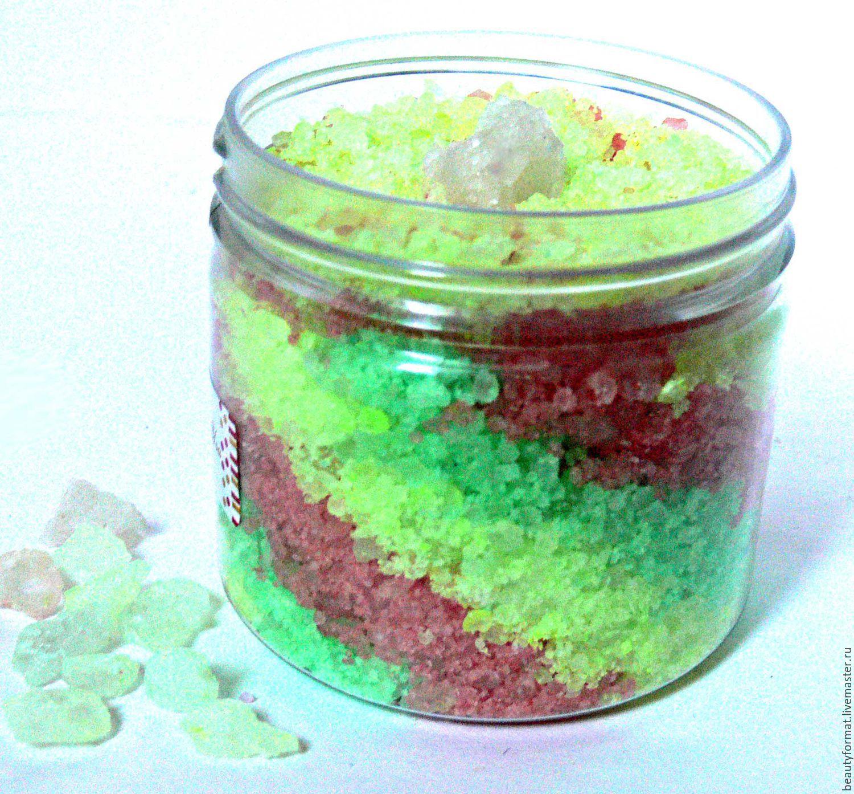 Соль с пеной для ванны