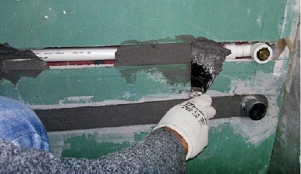 Использование бетонного раствора