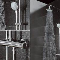 Обзор моделей смесителей для ванной с наличием тропического душа