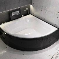 Угловые ванны каких размеров бывают, правила выбора
