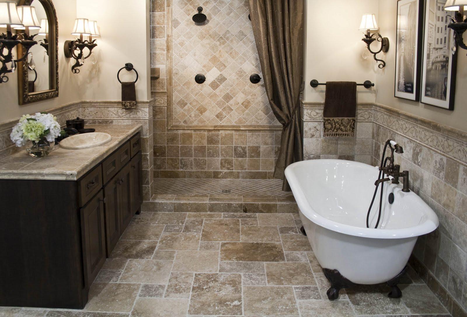 Укладываем плитку в ванную