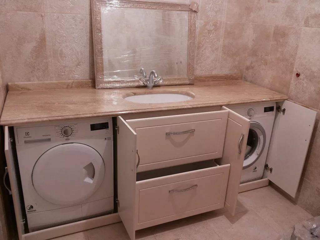 Установка стиральной машинки