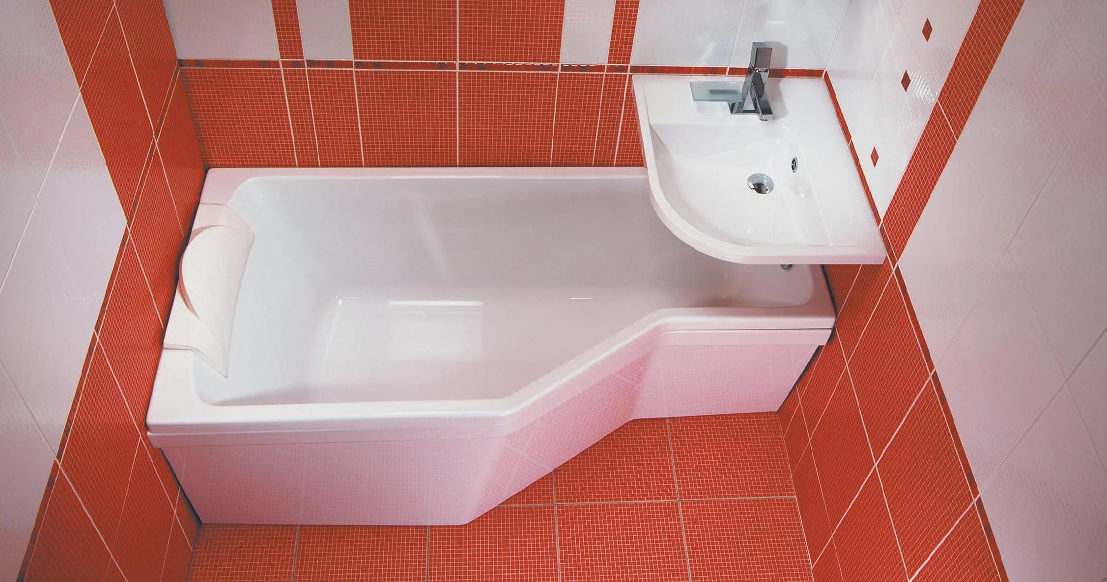 Ванна углового типа