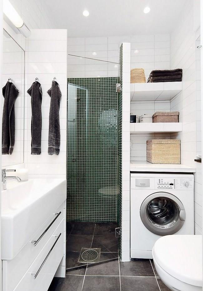 Ванные комнаты дизайн 9 кв м со стиральной машиной