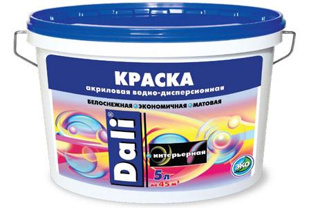 Влагостойкая акриловая краска для потолка ванной