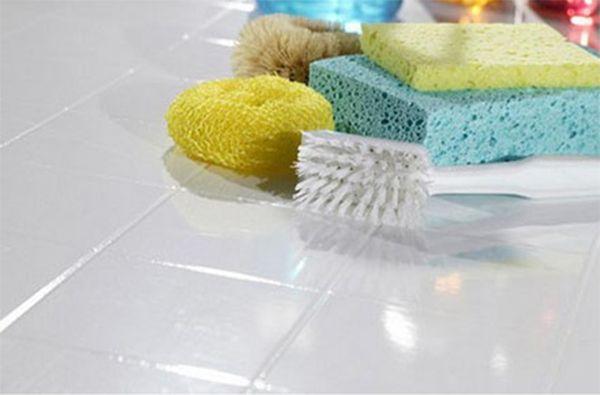 Чем отмыть плиточный клей