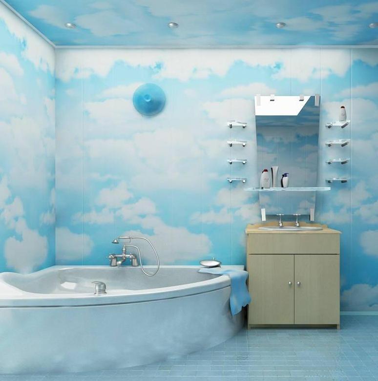 Декоративные пластиковые панели для ванной
