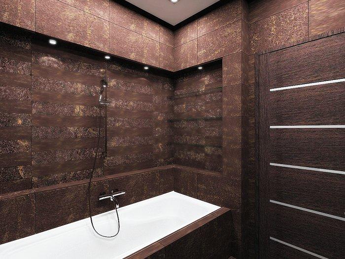 Дизайн и обустройство встроенных ванн