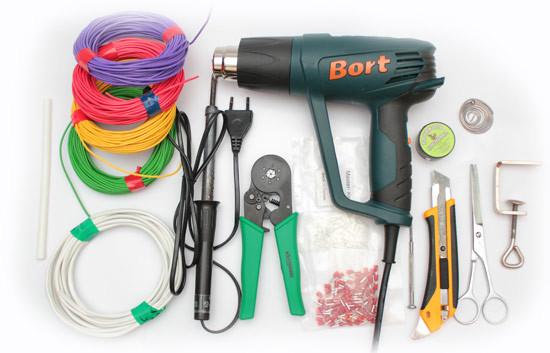Инструменты для монтажа светодиодов