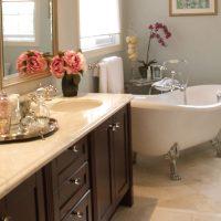 Классический стиль в ванной, как реализовать