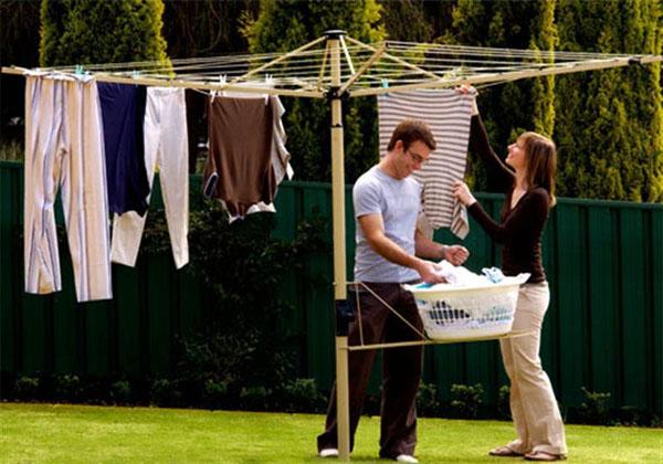Как правильно сушить белье
