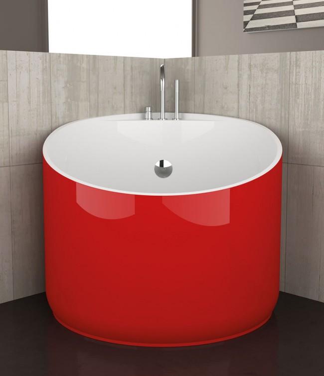 Круглая сидячая ванна