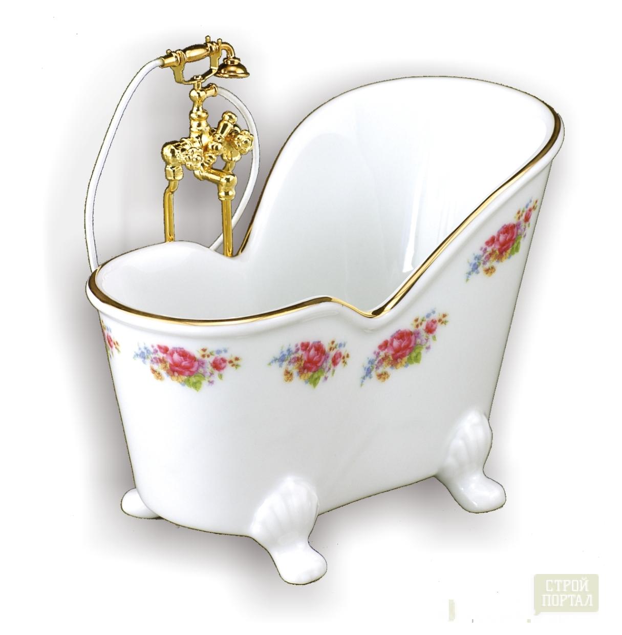 Необычная сидячая ванна
