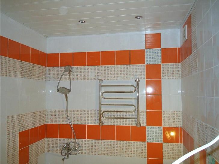 Оранжево-белое оформление