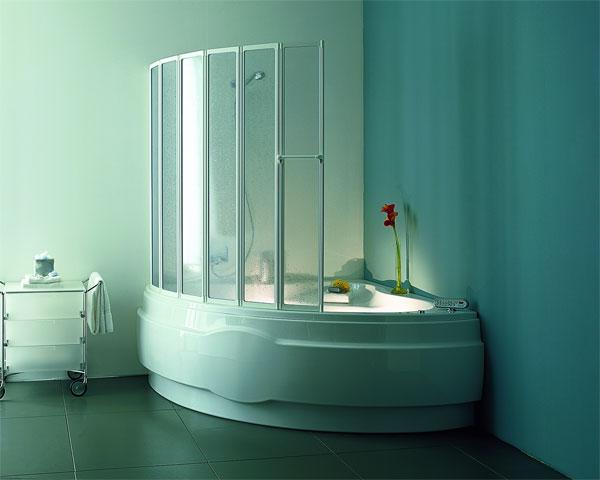 Перегородка на ванну