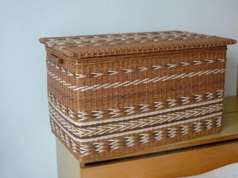 Плетение корзин для белья