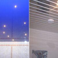 Варианты отделки потолка в ванной, какой лучше