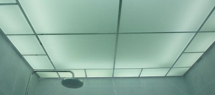 Потолок должен быть прочным