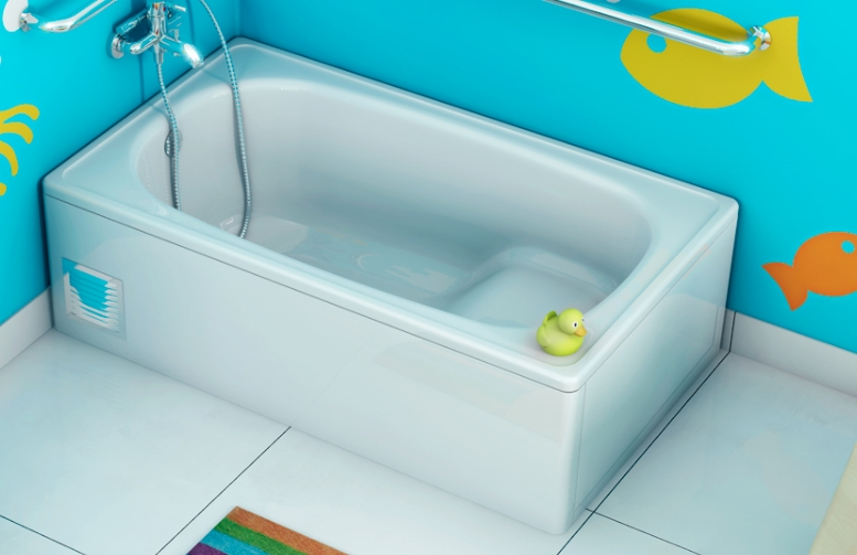 Прямоугольная сидячая ванна