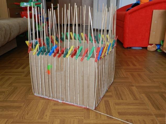 Техника плетения изделий из газет