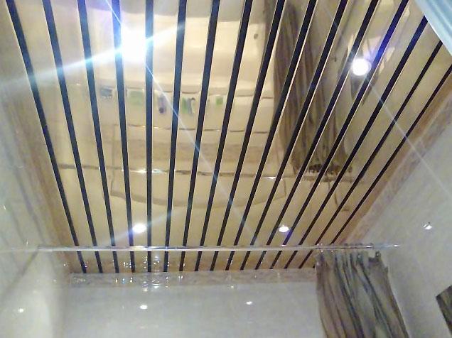 Выбор потолка для ванной