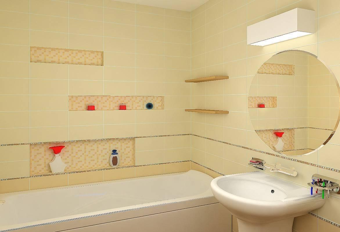 Ванные комнаты кремовые и бежевые