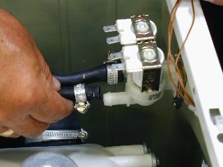 Входной клапан подачи воды