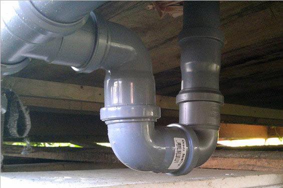 Применение гидрозатвора в канализации