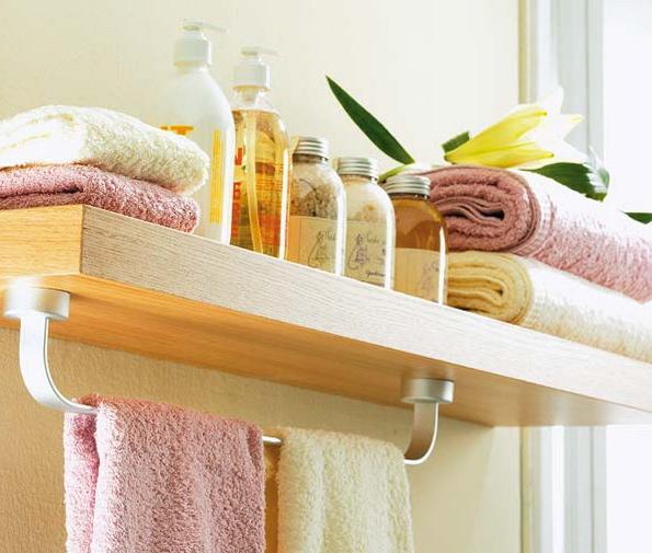 Аксессуары для ванной - держатель для полотенца
