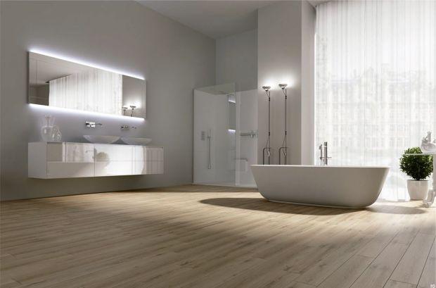 Белая ванная комната не потеряет своей актуальности