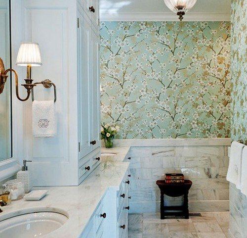 Делаем ванную комнату красивой и оригинальной