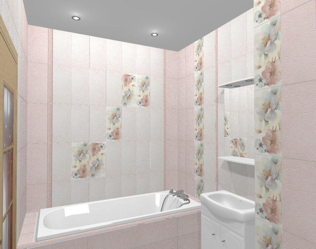 Дизайн плитки ванной комнаты