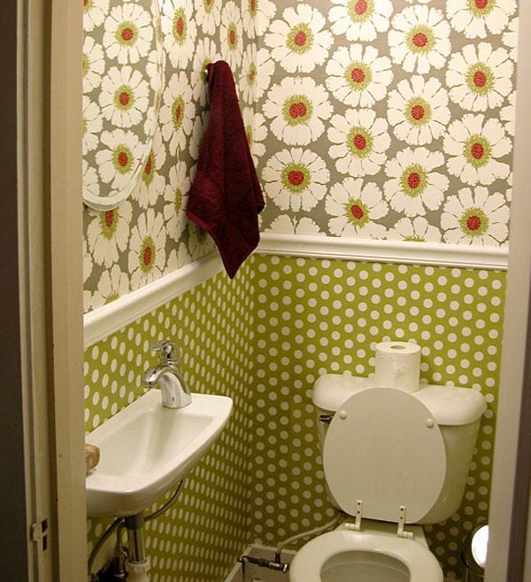 Дизайн в туалете