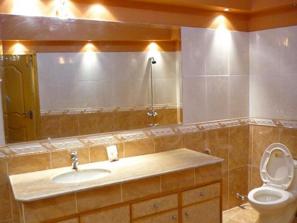 Как сделать свет в ванной комнате