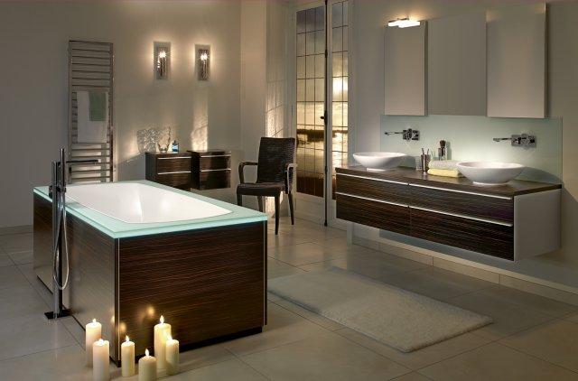 Как сделать ванную комнату красивой современной техникой 2018