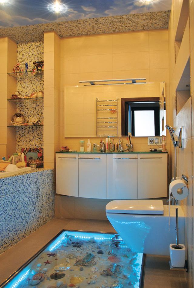 Как сделать ванную комнату светлой